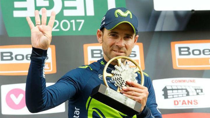 Valverde logra su cuarta Lieja Bastoña Lieja