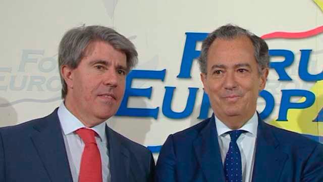 Angel Garrido y Enrique Ossorio