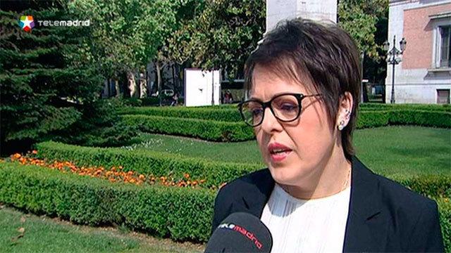 Blanca Ruiz, presidenta de la Federación españaola de fibrosis quística