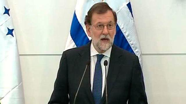 Mariano Rajoy en Montevideo