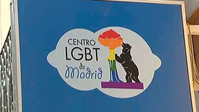 El centro LGTB de Madrid