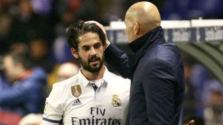 """Zidane: """"Isco hace cosas que no todo el mundo puede hacer"""""""