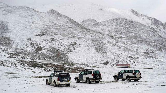 Guardia Civil en la montaña