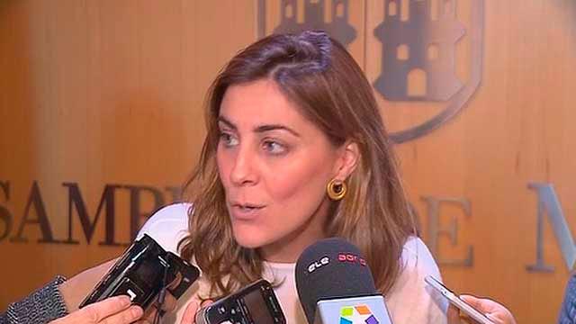 La portavoz de Podemos en la Asamblea de Madrid, Lorena Ruiz-Huerta