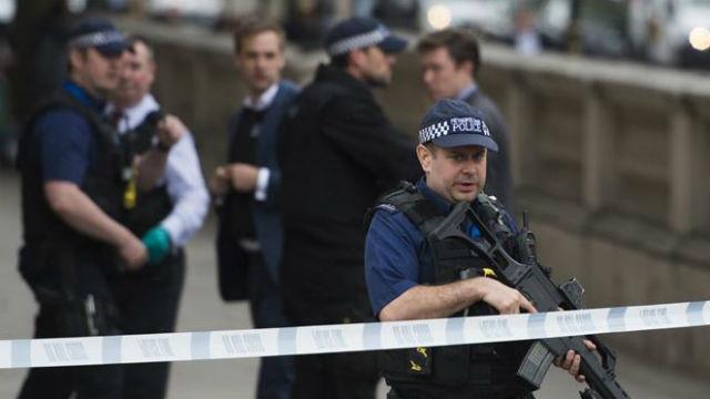Policías de Londres