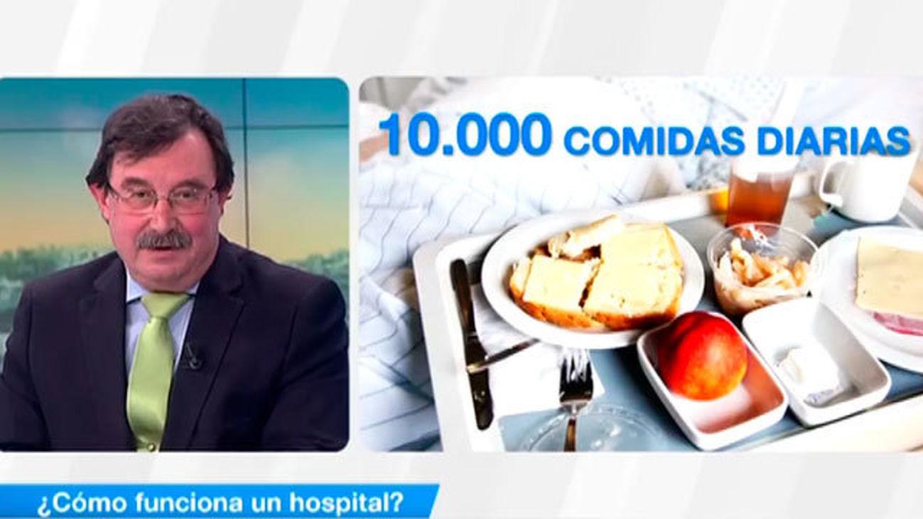 ¿Cómo funciona un hospital?