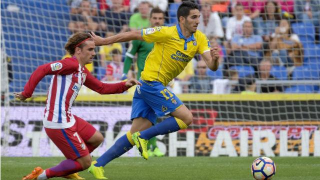El Atlético golea a Las Palmas (0-5)