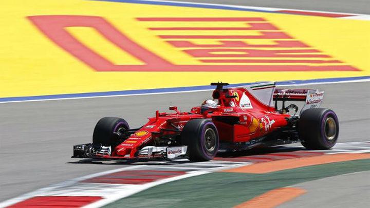 GP Rusia: Vettel consigue la pole con Sainz 14º y Alonso 15º