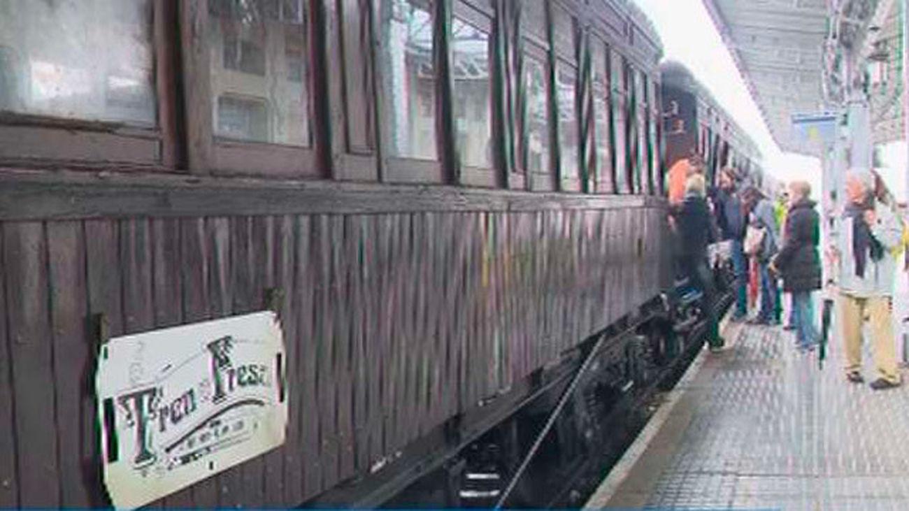 El Tren de la Fresa arranca este  sábado la temporada 2017 con novedades