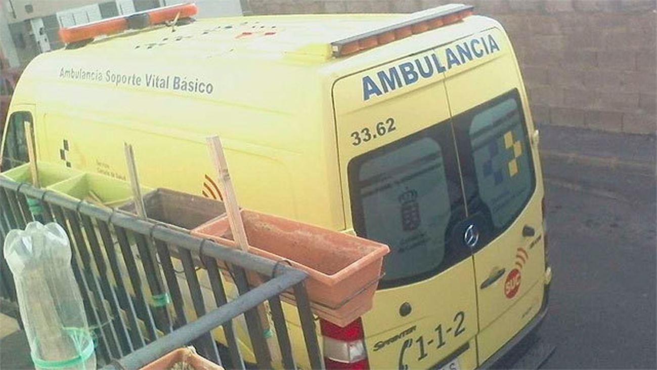 Ambulacia del 112 de Canarias
