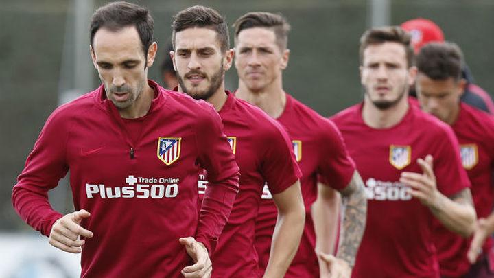 Juanfran vuelve a entrenar con el grupo
