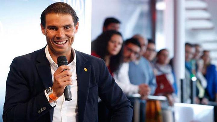 """Nadal: """"Vengo a Madrid con la ilusión de siempre, jugar en casa es especial"""""""