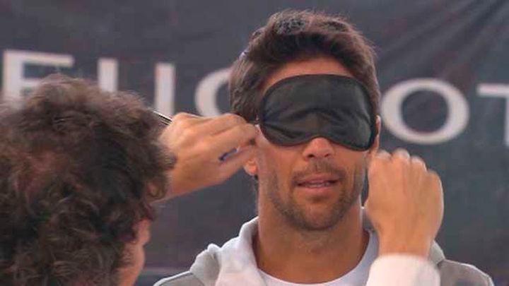 Verdasco participa en un clinic solidario antes de su debú en el Madrid Open