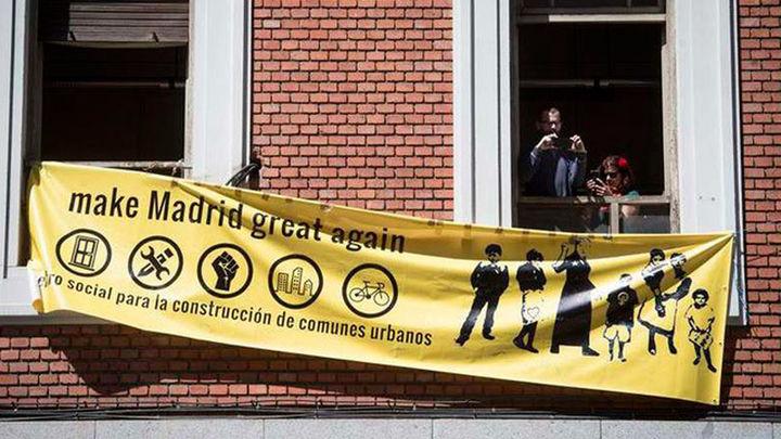 Mantienen la ocupación del edificio del futuro museo Ambasz
