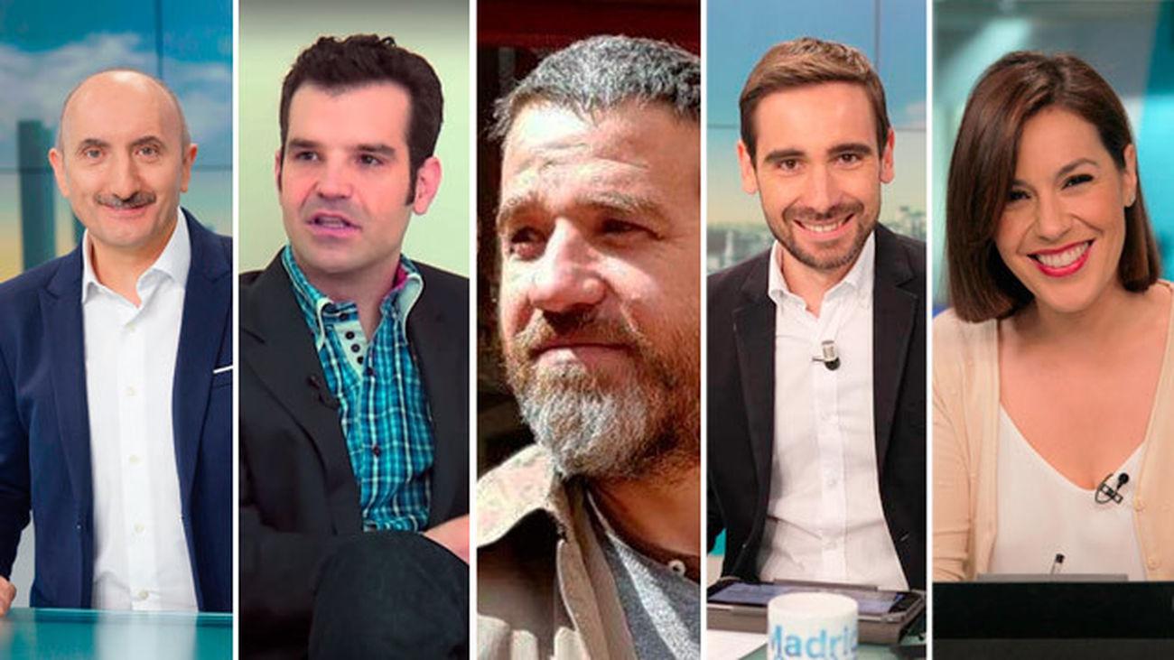 Alipio Gutiérrez, Jon Ariztimuño, Jaime García Treceño, Enrique López Soriano y Elena Argandoña