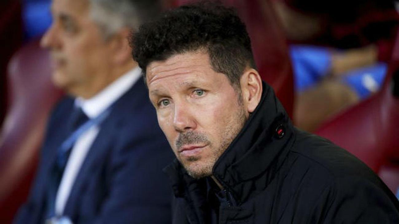 """Simeone: """"Los jugadores mostraron una nobleza enorme"""""""