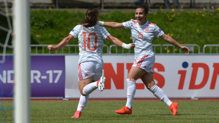 0-2. La selección española femenina sub'17, a la final del Europeo