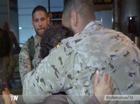 250 militares parten a Irak para compartir experiencias con el ejército local