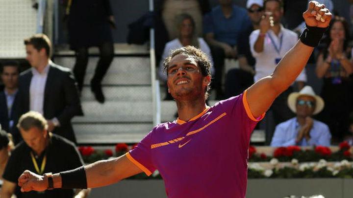 Madrid Open: Nadal barre a Djokovic para meterse en la final