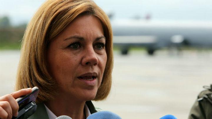 Cospedal visita a observadores españoles en Colombia y ratifica su apoyo a la paz