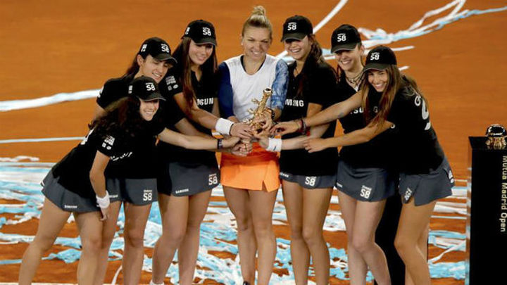 Halep vuelve a proclamarse campeona del Mutua Madrid Open