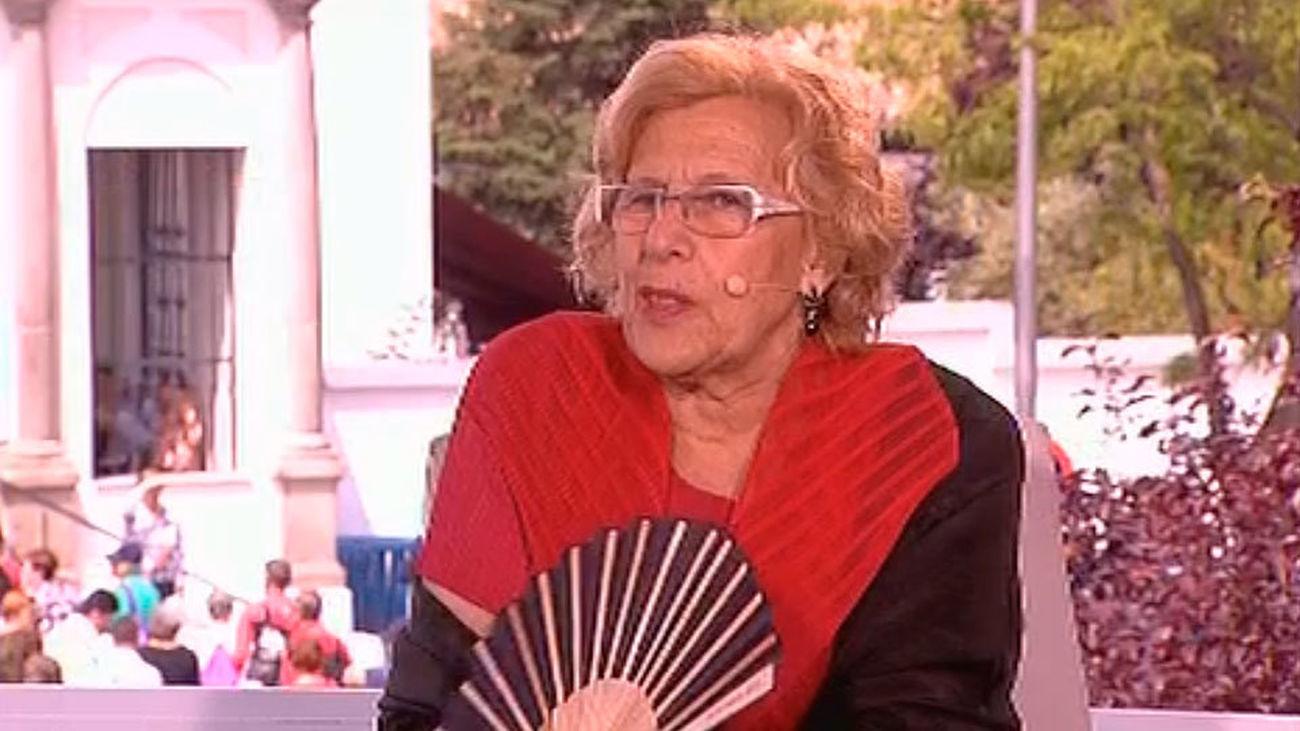 """Manuela Carmena: """"Estamos cambiando Madrid y me alegra ver que acertamos"""""""