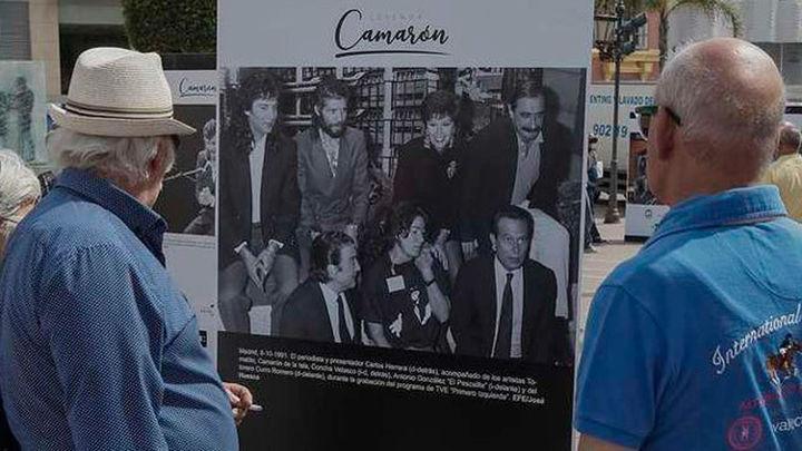 """Una exposición de fotos de la Agencia EFE conmemora """"25 años sin Camarón"""""""