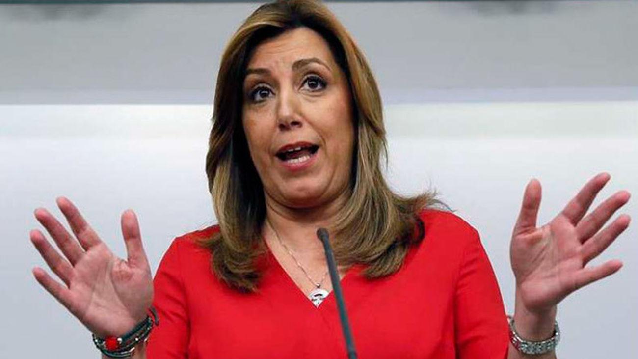 Susana Díaz retrasa la presentación del documento político de su candidatura