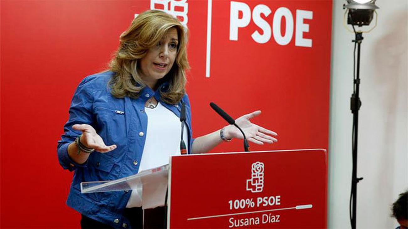Susana Díaz propone créditos públicos de 24.000 euros sin intereses para los jóvenes