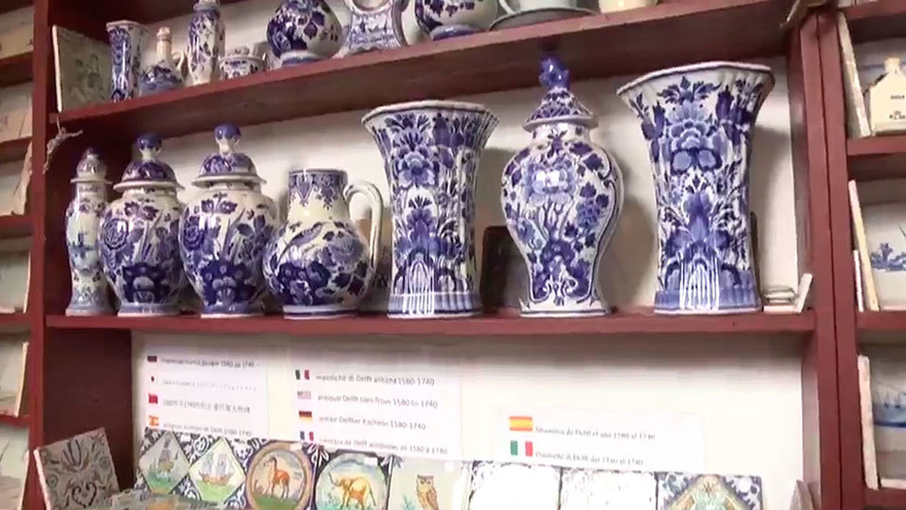 Delft y su cerámica azul