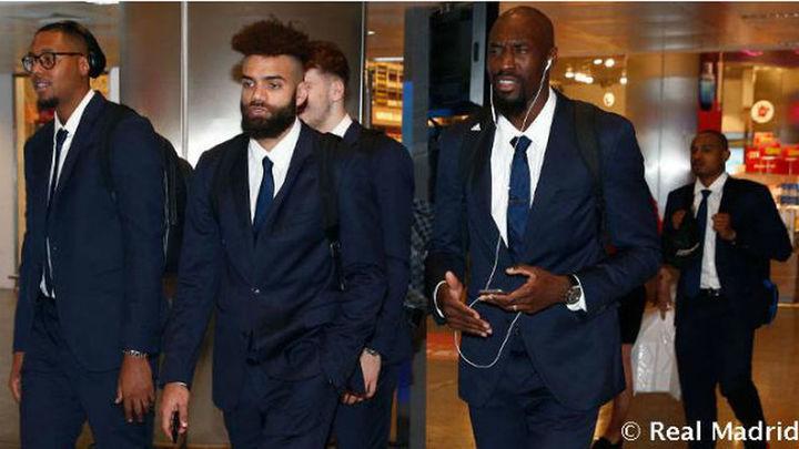 El Real Madrid ya está en Estambul
