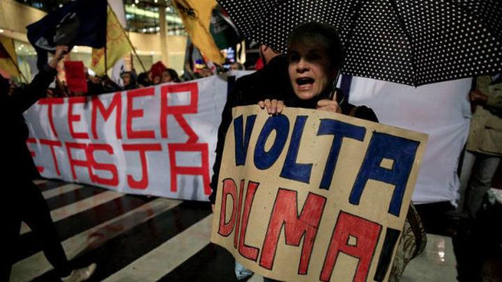 """Miles de brasileños gritan """"Fuera Temer"""" y exigen elecciones"""