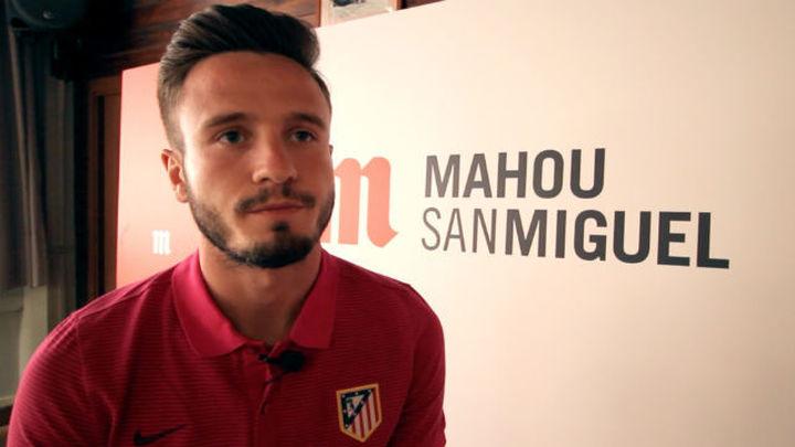 """Saúl: """"La despedida del Calderón es un partido muy especial"""""""