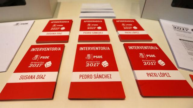 14.323 socialistas madrileños podrán votar en las primarias del PSOE