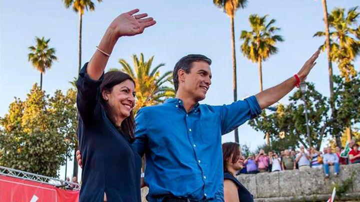 Sánchez y Díaz apelan en Sevilla a la unidad del PSOE a 48 horas de las primarias