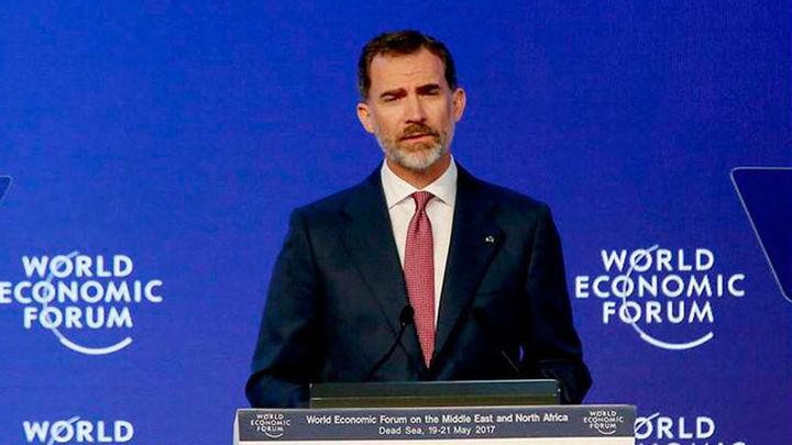 Felipe VI defiende más inversión en Jordania y alaba su acogida de refugiados