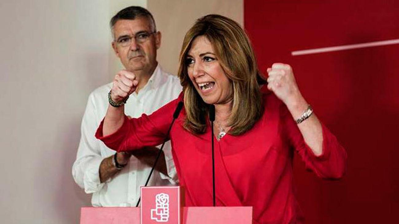Sánchez, Díaz y López cierran la campaña con promesas de unión