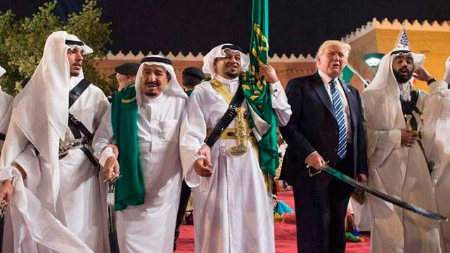 Donald Trump en Arabia Saudí