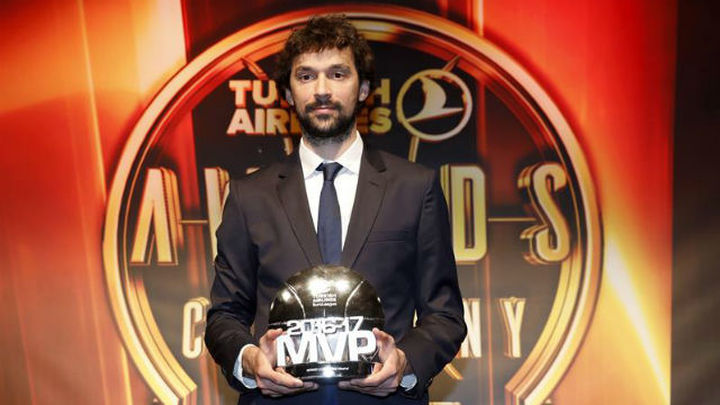 Sergio Llull, MVP de la Euroliga