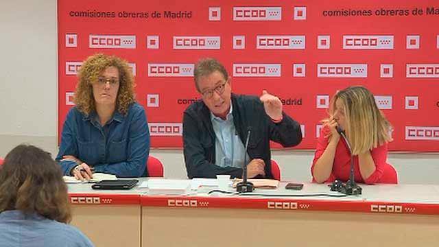 Jaime Cedrún en rueda de prensa