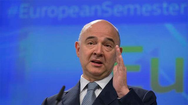 Pierre Moscovici; comisario europeo de Asuntos Económicos de la Unión Europea
