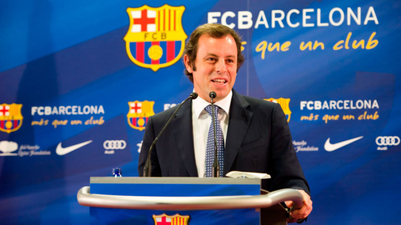 Detenido el expresidente del Barça Sandro Rosell por blanqueo de capitales