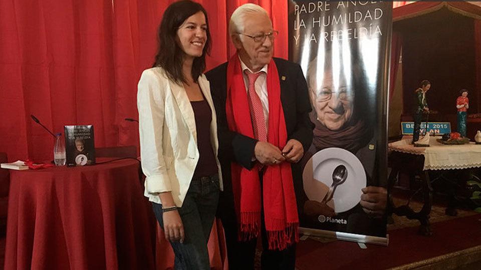 Presentada en Madrid la biografía del Padre Ángel