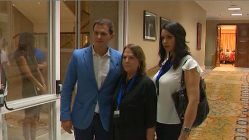 Rivera se reúne con Mizty Capriles