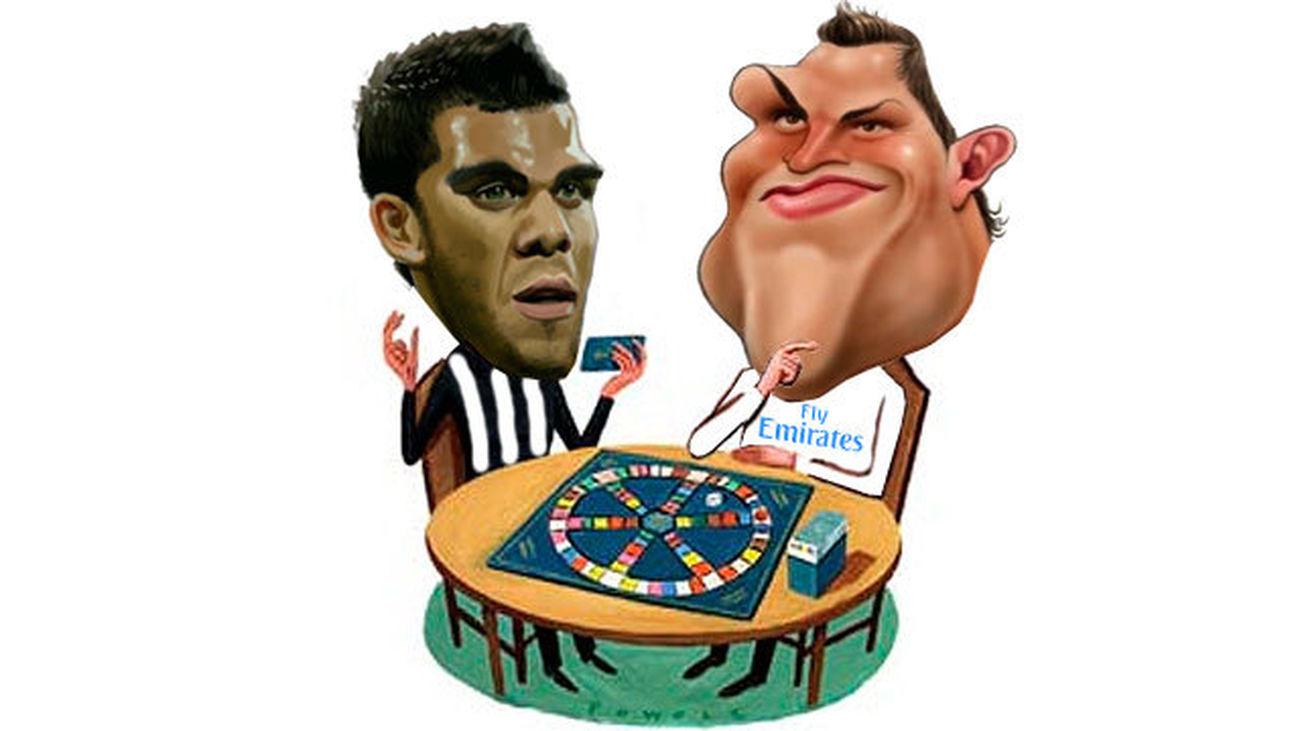 El trivial del Madrid - Juve