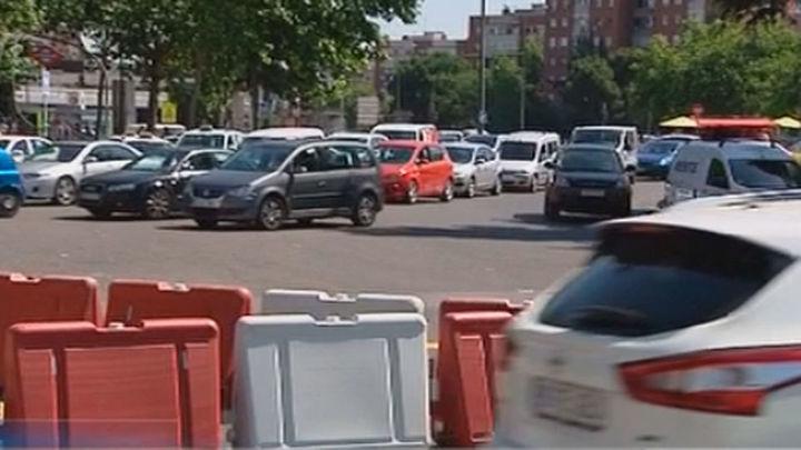 Colapso por las obras para el nuevo carril ciclista de la Avenida de Oporto