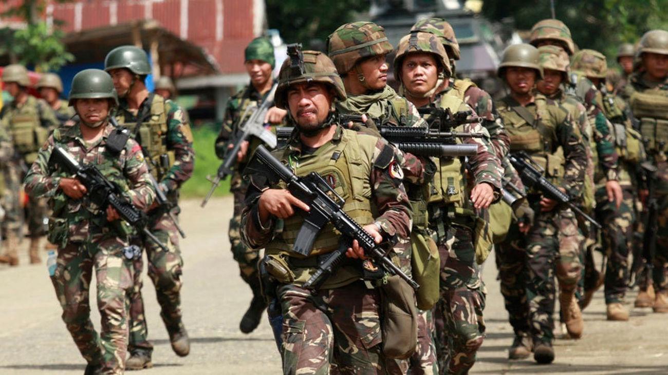 Despliegue del Ejército filipino tras los ataques de Marawi