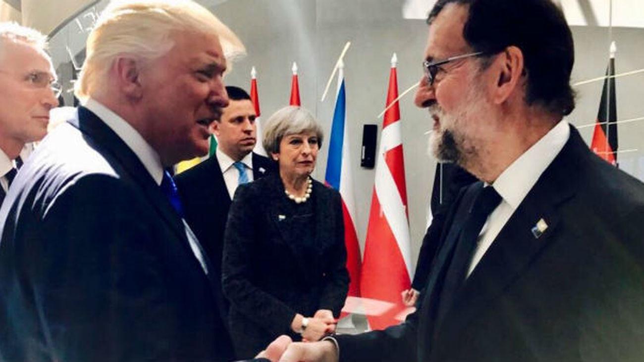 El Gobierno de Trump traslada su apoyo a Rajoy ante la situación en Cataluña