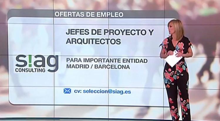 Se buscan jefes de proyecto y arquitectos