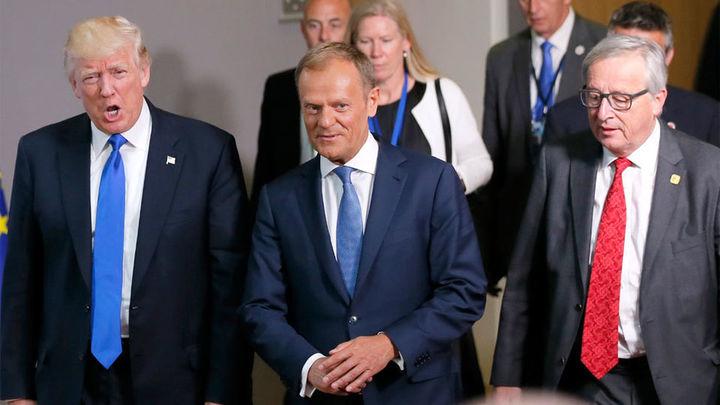 Trump pide a la OTAN parar el terrorismo y la inmigración sin promesa de defensa mutua